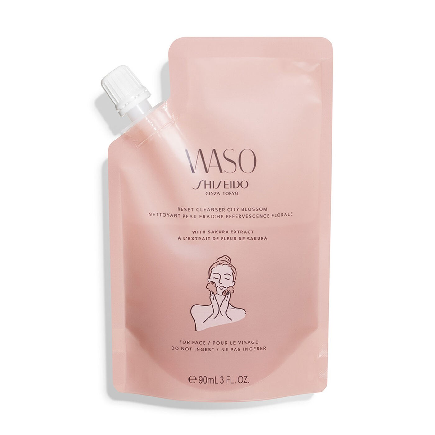 WASO RESET CLEANSER CITY BLOSSOM 1