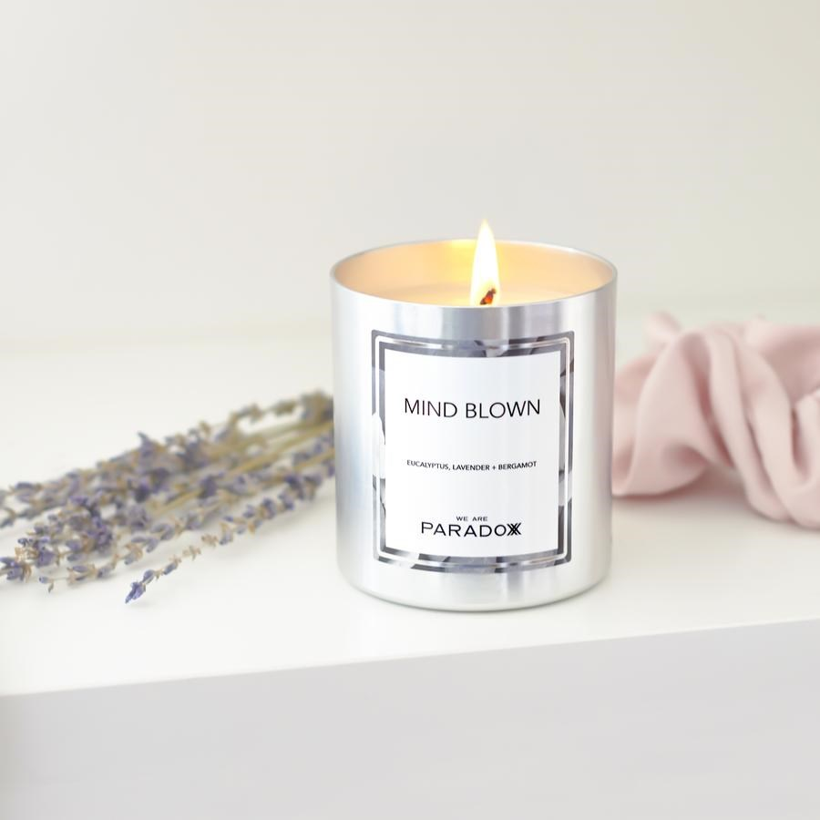 MIND BLOWN HAIR + BODY TREATMENT OIL CANDLE 6