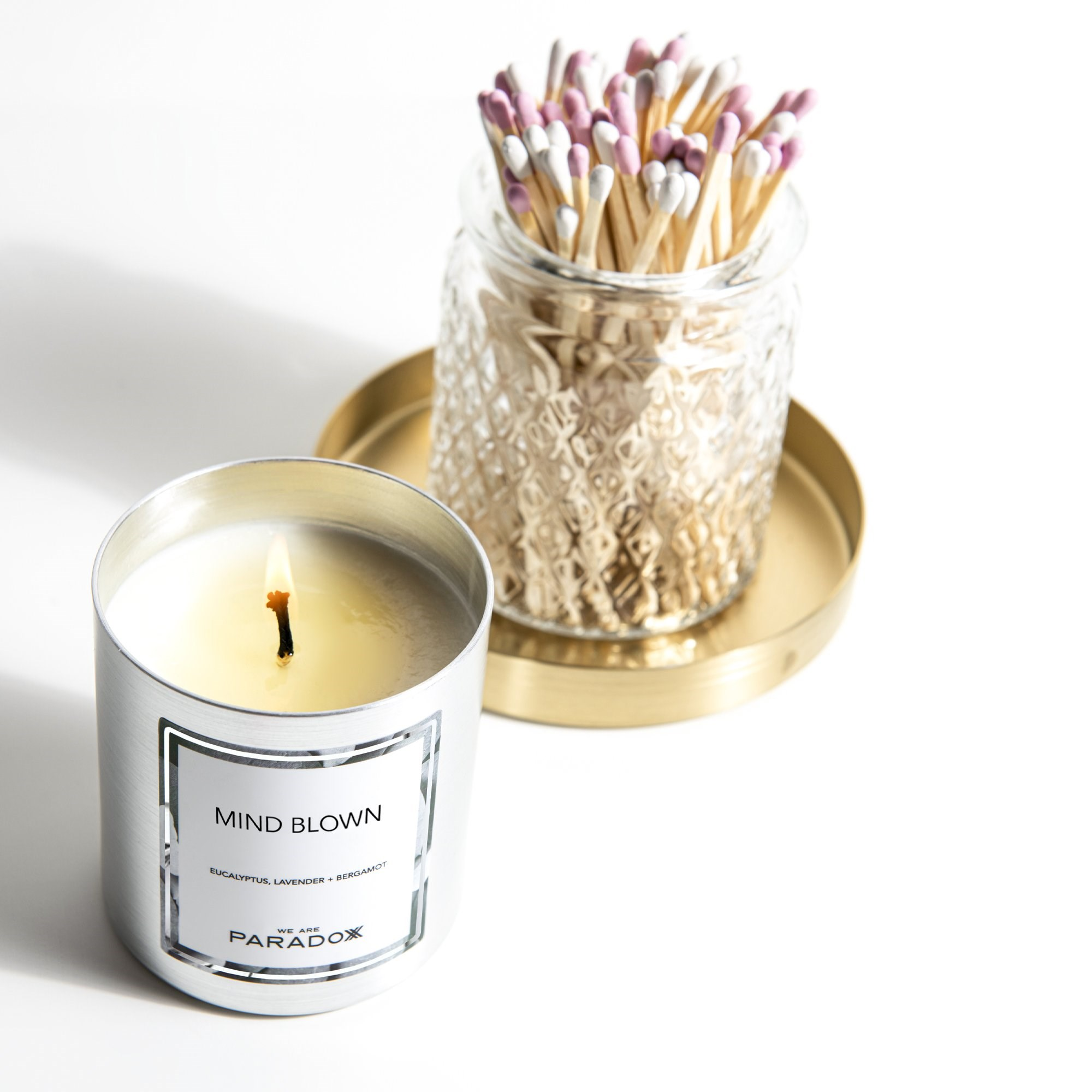 MIND BLOWN HAIR + BODY TREATMENT OIL CANDLE 7