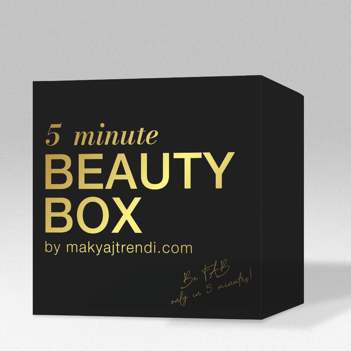5 MINUTE BEAUTY BOX - OIL FREE 3