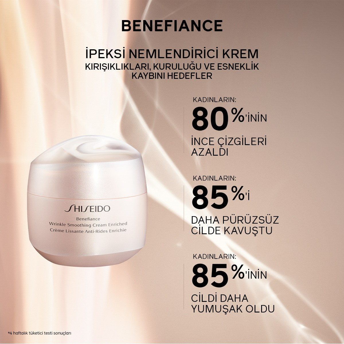 BENEFIANCE WRINKLE SMOOTHING CREAM ENRICHED 50ML 5