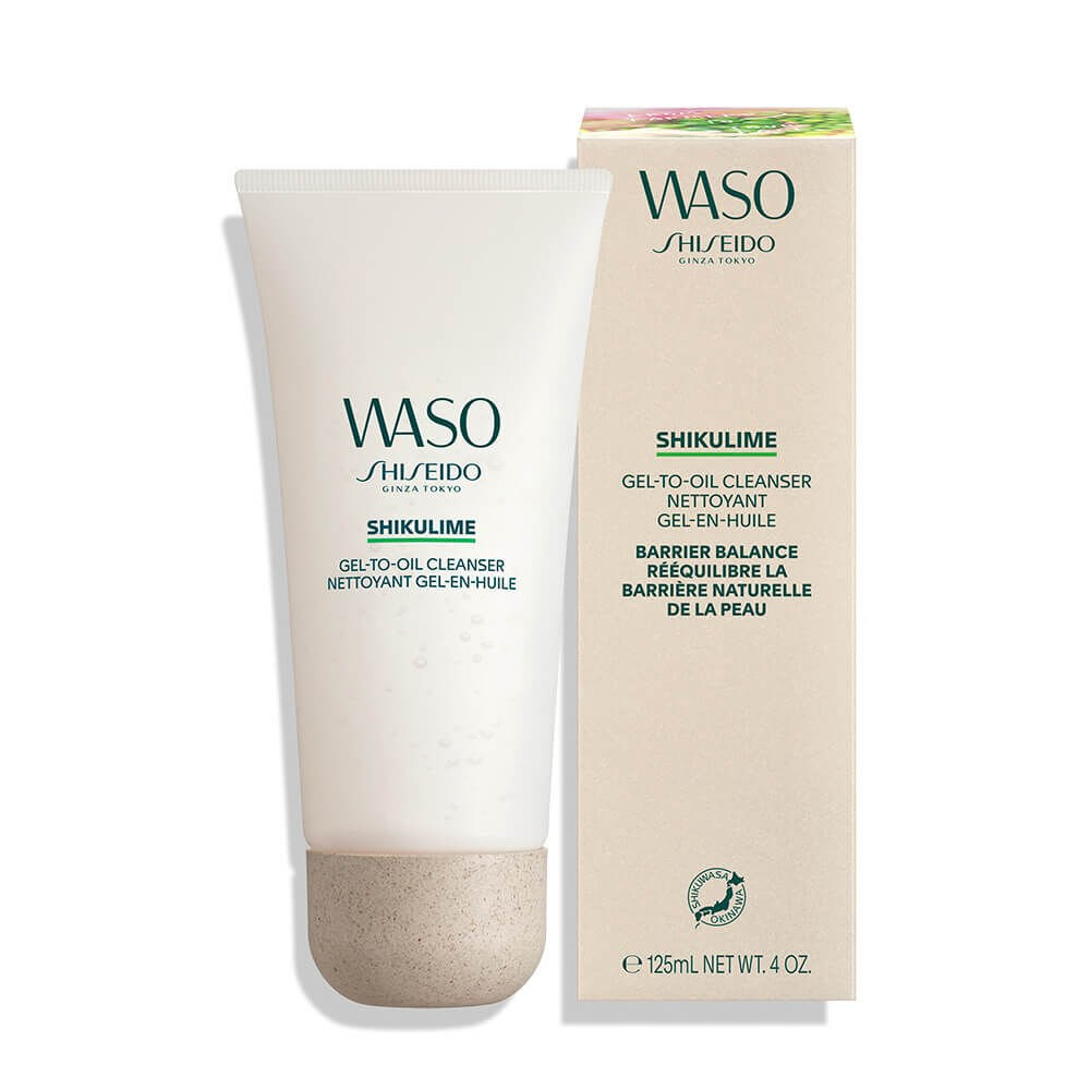 WASO SHIKULIME GEL-TO-OIL CLEANSER 6