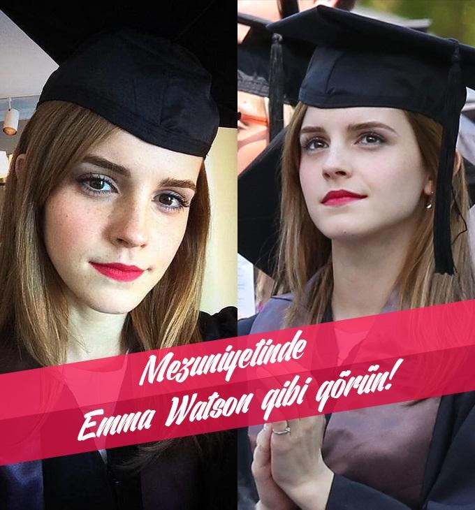 EMMA WATSON GİBİ GÖRÜNÜN!