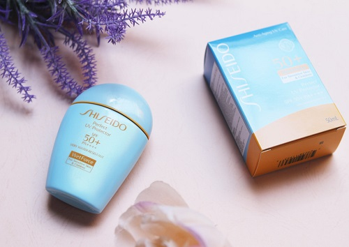 Shiseido Wet Force Sun Protection Lotion Sensetive Skin And Children
