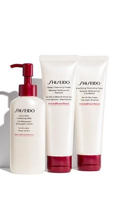 Shiseido exftra rich cleansing foam