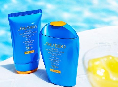 Shiseido Güneş Kremleri