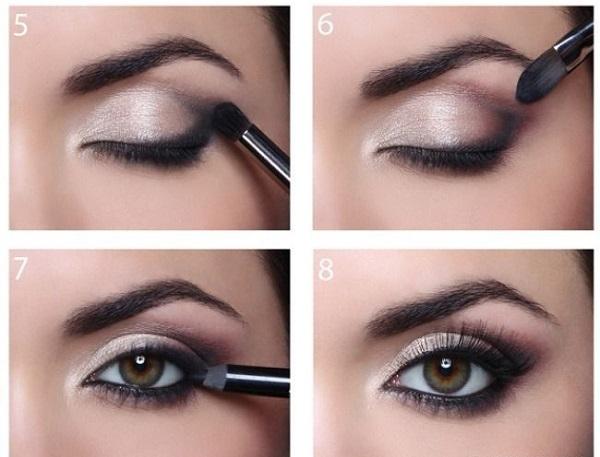 Koyu renk göz makyajı nasıl yapılır